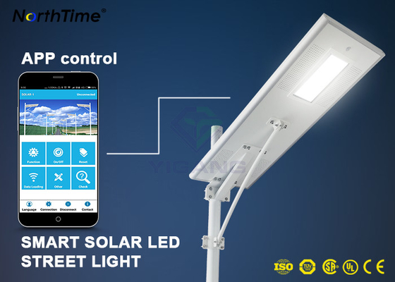 Cina Dimmable Solar Energy Motion Sensor IP65 70W LED Lampu Jalan Charge Controller pemasok