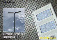 Cina IP65 Smart Control Solar Powered Lampu Jalan LED Dengan Solar Panel & Lithium Battery pabrik