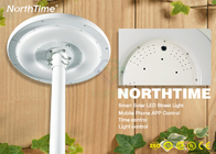 Cina Waterproof 20W LED Round Garden Solar Lights Dengan Infrared Montion 2000 - 2100LM pabrik