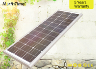 Proyek Pemerintah 80W All In One Solar Street Light Dengan Mono Solar Panel