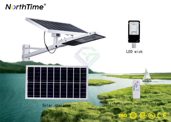 Cina Penghematan Energi 6 Volt 10W Solar Powered Wall Light Dengan Baterai Lithium Dustproof Distributor